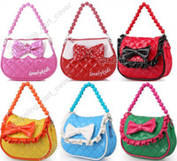 Hangbags best tote bags school - Lovely Little Girl Baby Kid Child Toddler Handbag Tote Shoulder Messenger Sling School Bag Satchel Purse Wallet Pack Party Toy Best Gift
