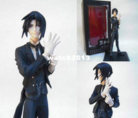 Wholesale Black Butler Kuroshitsuji Sebastian Michaelis action figure cm resin anime figure toy