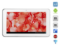 "Android 4.0 9 inch 4GB 9"" Android 4.0 MTK6515 Tablet 2G GSM Phone Call Dual Core 512MB 4GB Dual Webcam Capacitive Touch Screen Wifi Bluetooth FM"