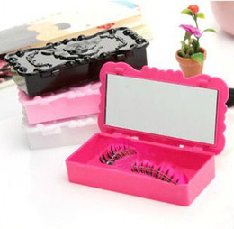 Wholesale New False Eyelashes Storage Case Plastic Makeup Cosmetic Tools