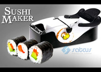 Wholesale Easy Sushi Maker Roller equipment perfect DIY roll Roll Sushi with color box kitchen accessories K1008