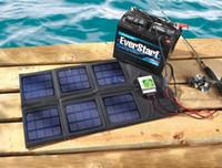 18 Вт Складные солнечные батареи Зарядное устройство 12V