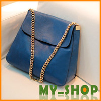 Wholesale PU fabric with thick metal personalized handbag new bag diagonal package shoulder bag fashion handbags