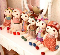Wholesale Baby Angela Plush Doll Metoo Stuffed Styles Baby Girls Cute Dolls Kids Graphic Fairytale Toys B0729