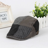 Wholesale Most Valuable new stitching beret fashion men Lady retro Cap Hat