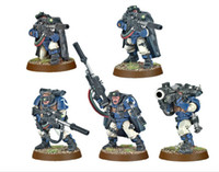 Wholesale Warhammer k Models Space Marine Scouts with Sniper Rifles Warhammer Resin model