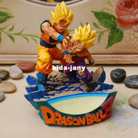 Wholesale Genuine Dragon ball Z action figure Goku and Gohan deification RAMA ver dragonball PVC cm toys super cool gift