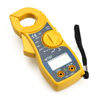 Wholesale Brand New Digital LCD Multimeter Electronic Tester AC DC CLAMP Meter Electronic Instrument MT87