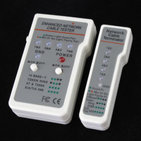 Wholesale Brand New New Multi functional network Modular Cable Tester Freeshipping