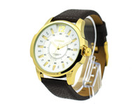 Wholesale 2013 New Style Curren Watch High Praise Online Watches Brown Band Golden Case Noble Watches Cheap High Quality Business Casual Watches E