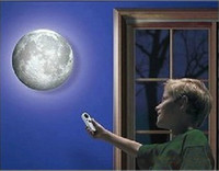 Wholesale REMOTE Amazing Healing Moon Beauty Sky Night Light Lamp