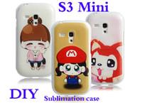 Cheap Plastic Sublimation Best For Samsung for S3 mini DIY sublimation