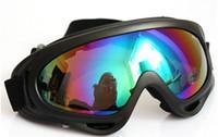 L ansi glasses - High quality X400 ski glasses amp cycling goggles PC UVA UVB protection ANSI Z87 strandard colors optional