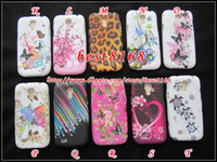 Wholesale Flower butterfly Loepard USA UK flag star starfall TPU Silicone soft Case for Samsung Galaxy S S4 mini I9190 love skin cover cases