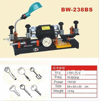 Wholesale DHL BW BS Car Key Duplicating Duplicate Double Sides Cutting Machine Wheel