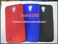 Plastic For Apple iPhone  Rubberized rubber matte plastic hard case For Samsung Galaxy Mega 6.3 I9200 blank plain skin cover fashion shell cases 50pcs