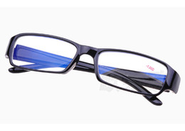 Wholesale hot sale new arrival bright black square frame reading glasses WY384