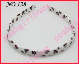 free shipping 100pcs fashion girl hard headbands popular ribbon headbands mix color baby headbands