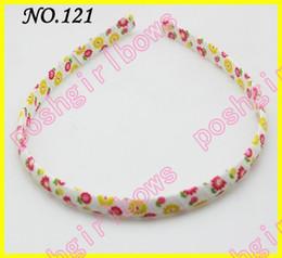 free shipping 500pcs fashion girl hard headbands popular ribbon headbands mix color baby headbands