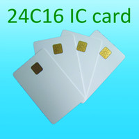 24c16 atmel smart card - ISO7816 ATMEL c16 contact ic card contact chip card k plastic card