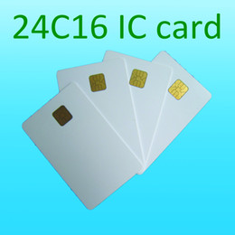Wholesale ISO7816 ATMEL c16 contact ic card contact chip card k plastic card