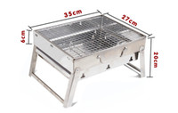 Wholesale Stainless Steel Portable Home Use Outdoor BBQ Grills Picnic Cooking Tools