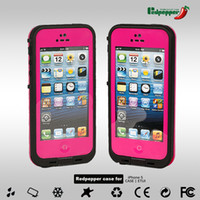 Wholesale redpepper red pepper Case For Iphone g iphone5 Case Water proof Case Retail Packaging Colors