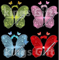 Wholesale Angel Butterfly Wings For Children And Adult Cosplay Todder Littlle Fairy Party Costumes