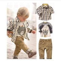Cheap Boy baby clothes Best 1-6T Spring / Autumn children garment