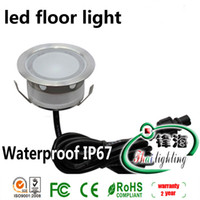 Wholesale IP67 W LED floor ligh set led floor lights amp pc W LED driver amp pc T connecting cable SC B104A