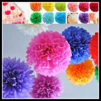 Paper Flower beautiful runners - Hot Selling cm Paper Flower Ball for Wedding Supplies with different colors Beautiful Party decorations simulation artificial flowers