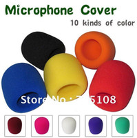 Wholesale On Stage Microphone Windscreen Foam Cover Grill Cover Audio Mic Shield