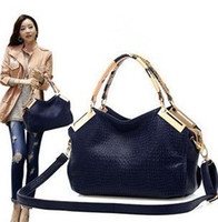 Wholesale Fashion Joker Lady Women PU Leather Shoulder handbag Tote Hobo Purse Han edition single shoulder bag Oblique cross bag Shoulder Bags