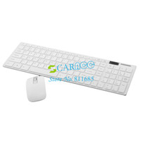 Wholesale New Fashion G Wireless Suit thin Wireless Keyboard Mouse Mini Keyboard