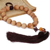 Beaded, Strands sandalwood beads - Opening of India s top mm grain of Laoshan sandalwood beads Lucky car pendant car hanging beads H L7