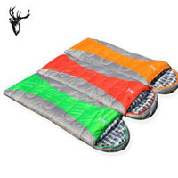 Wholesale Outdoor mountaineering camping sleeping bag envelopes can joining together during the spring and aut