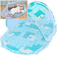Wholesale Children s folding mosquito net Baby mosquito net Baby cartoon special quality ship nets WZ001
