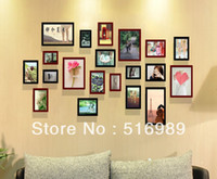 "Cheap 5"" 7"" 10"" Fashion new beautiful Home Decor wood picture photo frame fsdf618g"