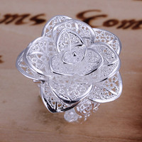 Wholesale LKNSPCR116 Factory Price High Quality Fashion Silver Ring