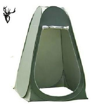 Automatic changing tent outdoor tent shower toilet tent mobile tent with backpack model photography
