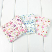 Fabric Sundries Eco Friendly Bowknot Sanitary Towel Napkin Tampons Pad Purse Holder Bag Organizer HQS-Y29192