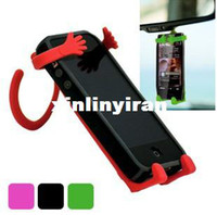 Cheap All-purpose Hook Key Hanger Clasp Flexible Mobile Cell Phone Holder HY29623