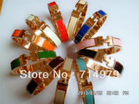 Wholesale HOT sale Fashion womens candy color H Crystal bracelet Birthday gift d