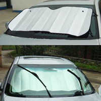 Wholesale Foldable bubbles Auto Car Sun Visor Reflective Shade Windshield Window Cover