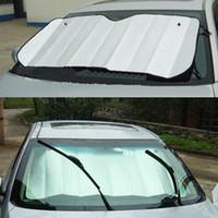 Wholesale Foldable bubbles Auto Car Sun Visor Reflective Shade Windshield Window Cover