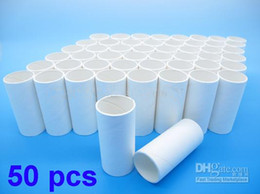 Wholesale Pack of Disposable Cardboard Mouthpieces for Digital Spirometer Contec SP10 Lung Breathing Micro