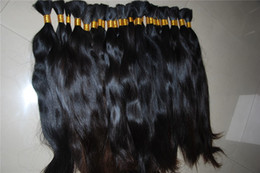 Wholesale Hair bulk double drawn no short hair no thinner ends no chems no processing soft and shiny virgin hair