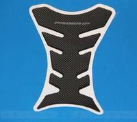 Wholesale Motorcycle Carbon Fiber Tank Pad TankPad Protector Black