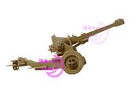 Wholesale Cannon D Jigsaw Woodcraft Kit Military Model Wooden Puzzle Desktop Decoration Kids Assembling Toys