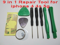 Wholesale 9 in Repair Opening Tool Kit With Point Star Pentalobe Torx Screwdriver iPhone G S